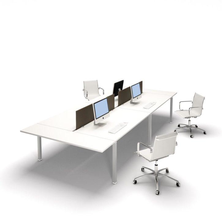 Gate Bench Desk Cluster