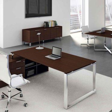 Veneered Executive desk