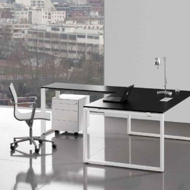 Italian Black Desk