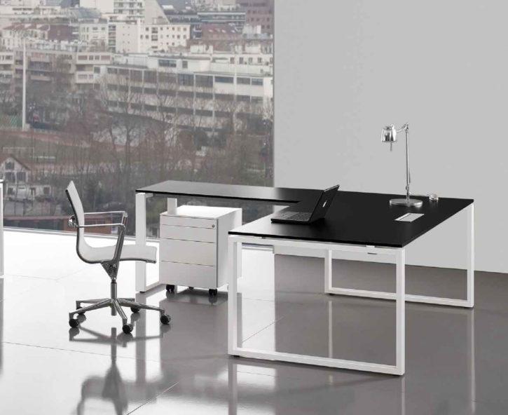 Loop Black Desk