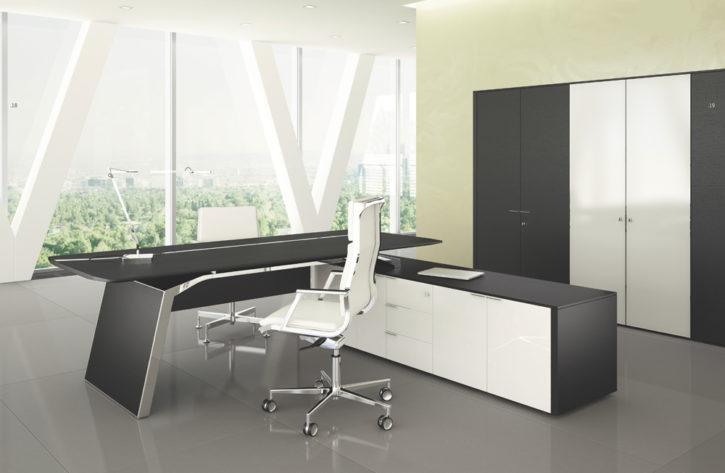 Meta Stunning Italian Executive Desk