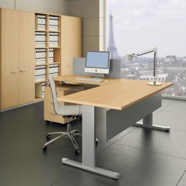 Italian Executive Desk with Return