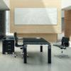 Glossy Italian Executive Desk