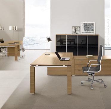 Oak Italian Executive Desk