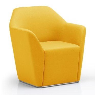 Shuttle Yellow Tub Armchair