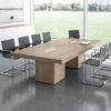 Elegant Italian Boardroom Table