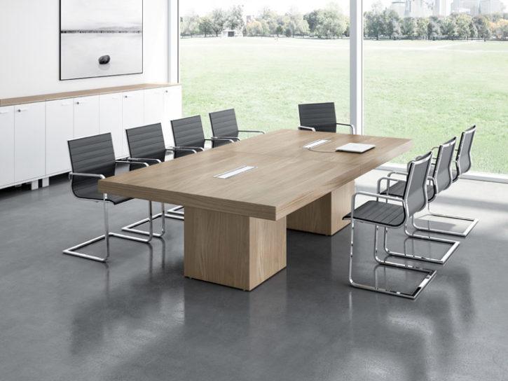 Sironi Elegant Italian Boardroom Table