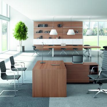 Contemporary Italian Executive Desk