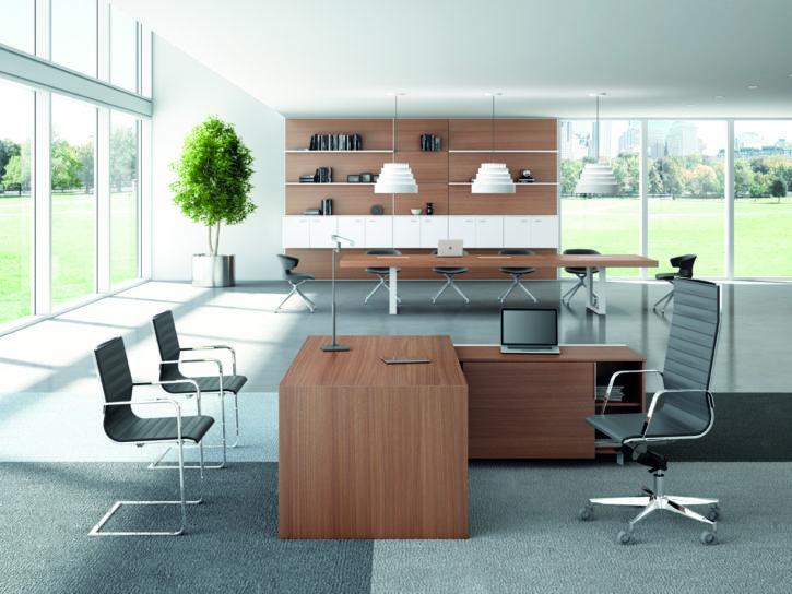 Sironi – Contemporary Italian Executive Desk