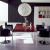 Italian Glass Boardroom Table