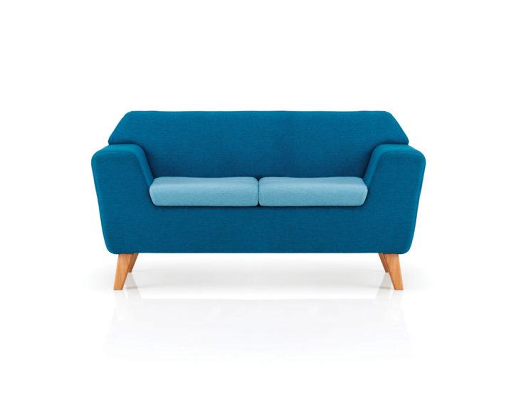 Zone Two Tone 2 Seat Sofa