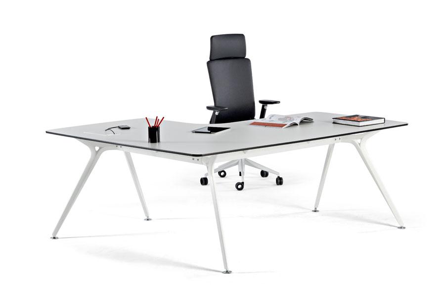 white corner office desk. ark white corner office desk