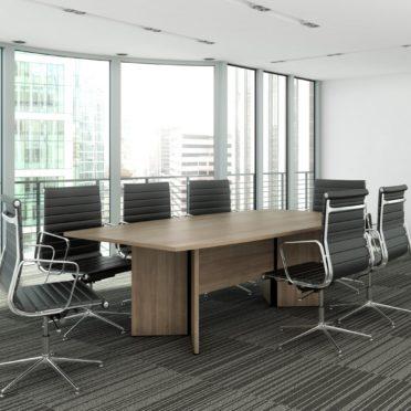 Cambira Boardroom Table on Arrow base