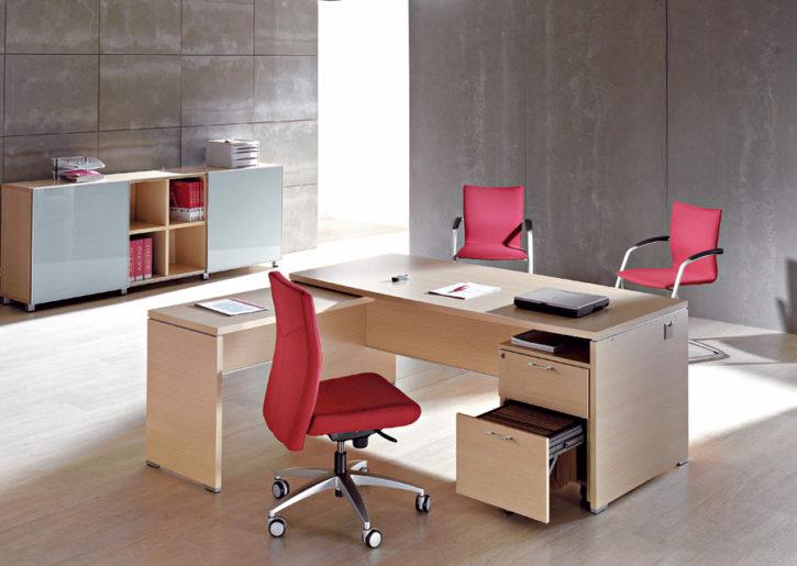 Domino Corner Desk with Storage
