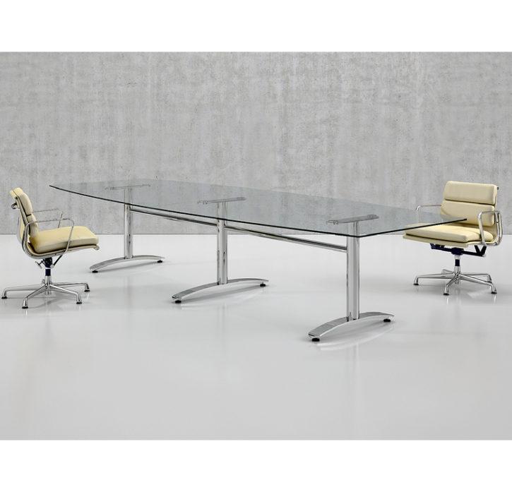 Ford Barrell Shape Glass Table Main
