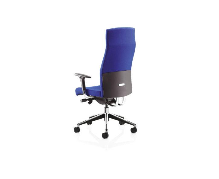 Klass high Back Blue Office Chair Back
