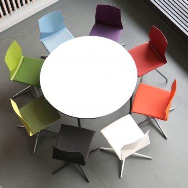 Circular Canteen Table