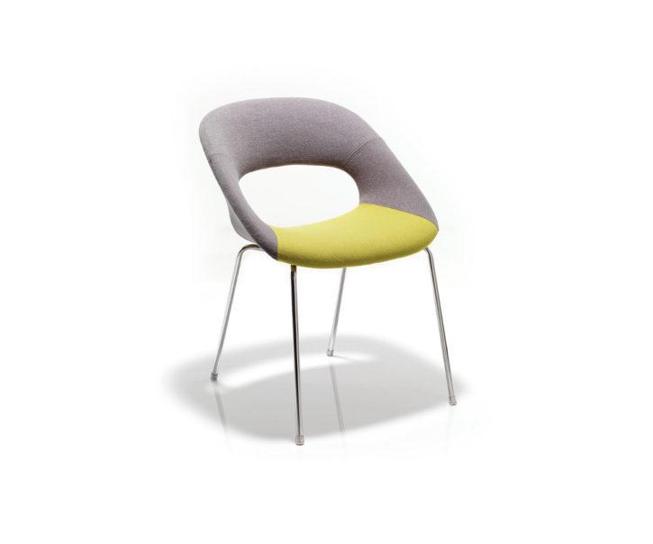 Ludo Four Leg Waiting Chair