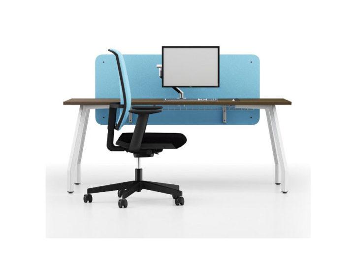 Note Individual Walnut Desk
