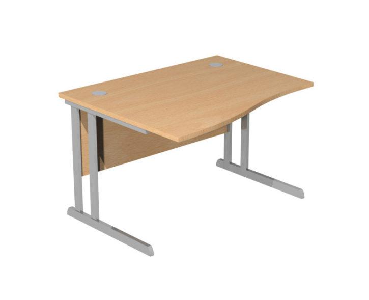 Optus Single Wave Desk