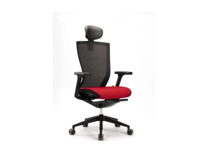 Sidz Mesh Back Task Chair with Headrest