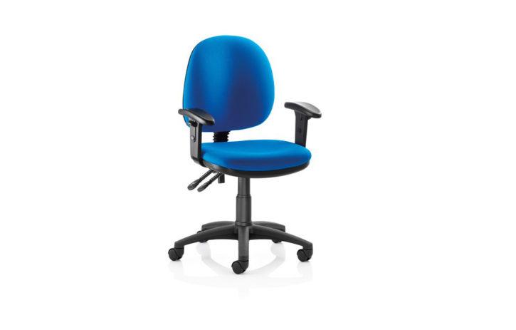 Strike Low Back Blue Task Chair