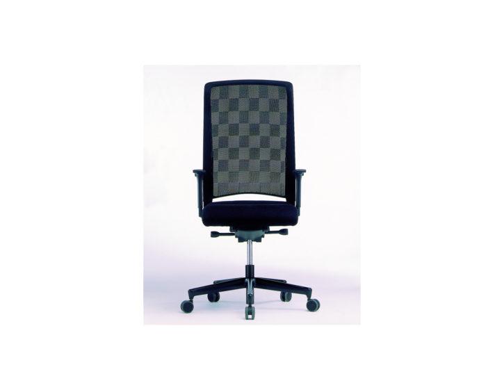 Zantos High Back Chequered Mesh Chair