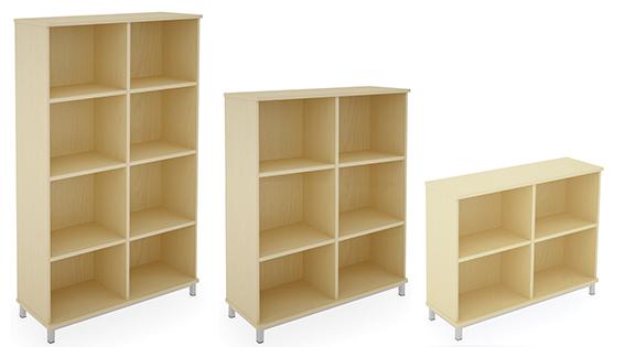 Bookcase_BOF units
