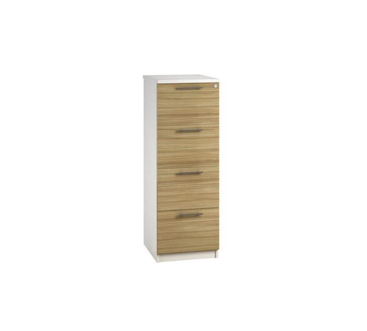 Aura Light Olive Gloss Filing Cabinet