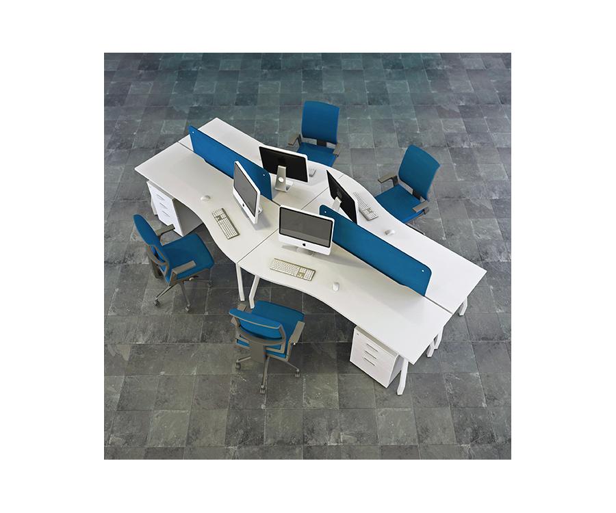 Wave Bench Desk