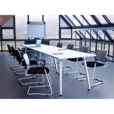 Rectangular Boardroom Table