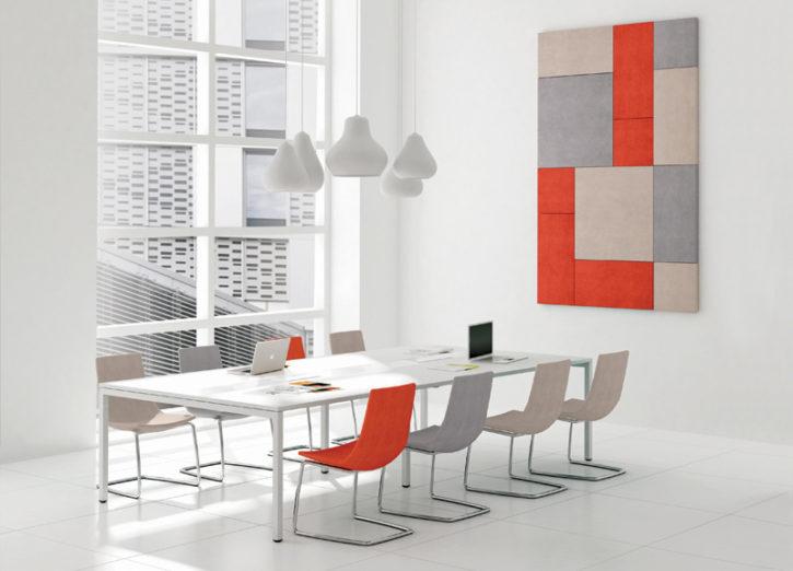 Nova 10 Person white meeting table