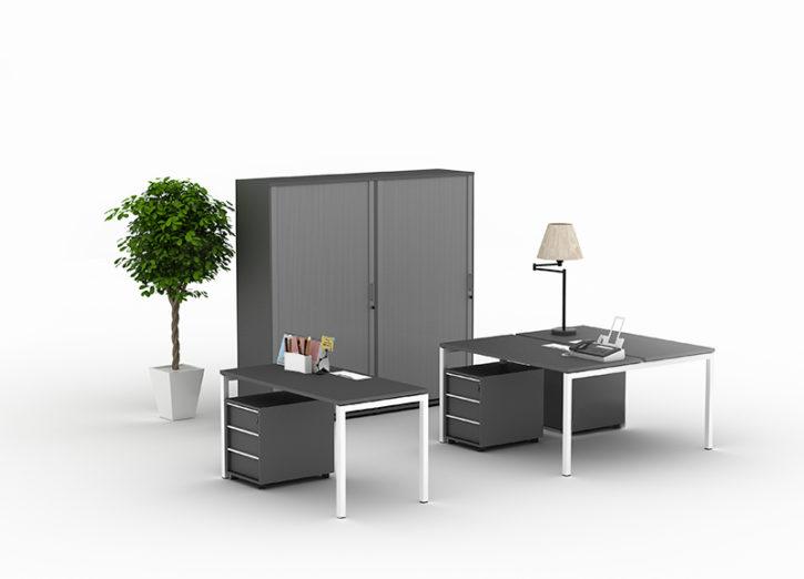 Nova 2 Person Office Bench Desk