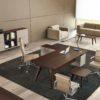 Veneered Italian Executive Desk