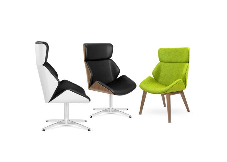 Cascara High Back Lounge Chairs