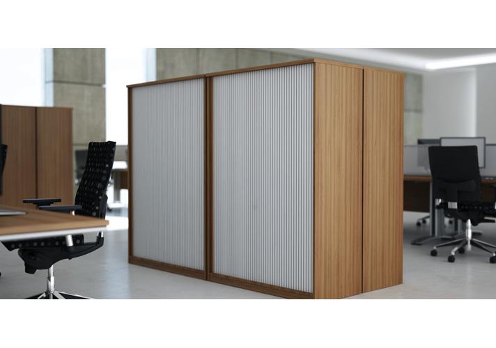 Cordinan Office Tambour Storage Unit