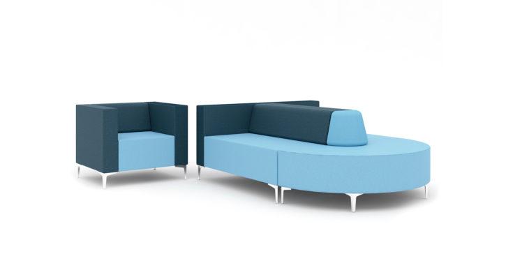 Evo Modular Soft Seating Layout