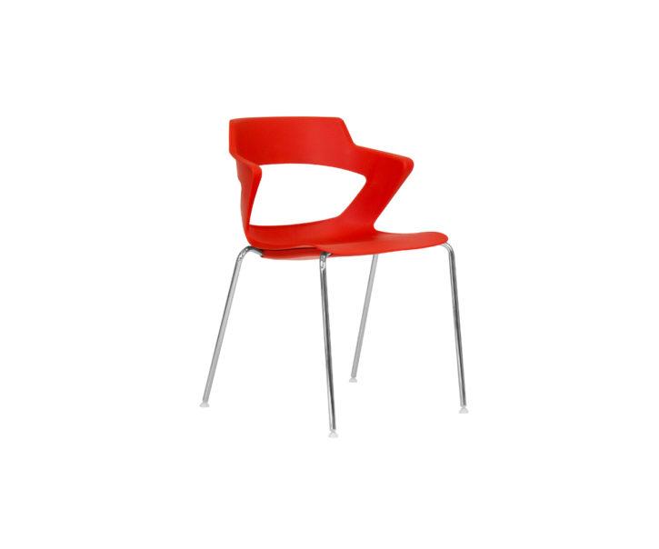 Zen Plastic Stackable Canteen Chair