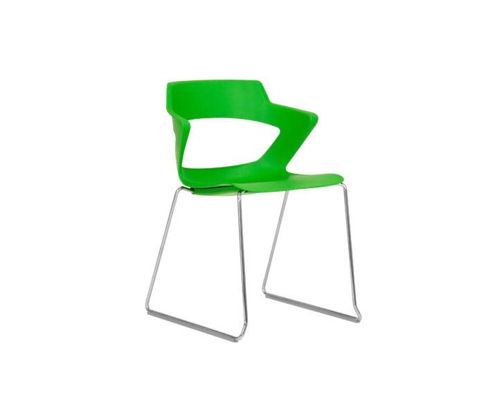 Zen Plastic Stackable Visitors Chair