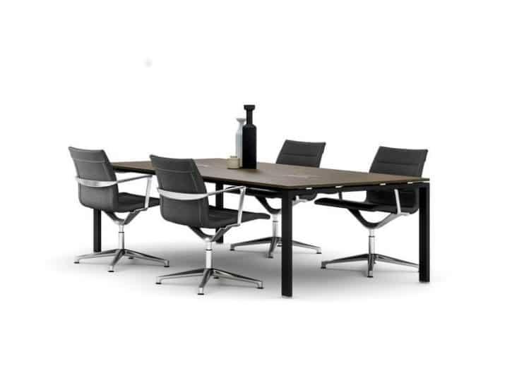 Glide boardoom table