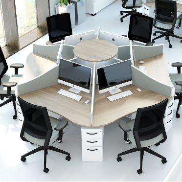 Cluster Desks & Call Centre Workstations