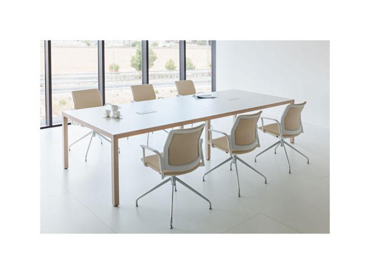 Prisma Two Tone Boardroom Table