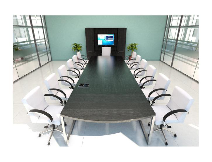 Cirrus Large Smart Boardroom Table