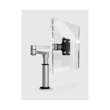 Silver Monitor Arm
