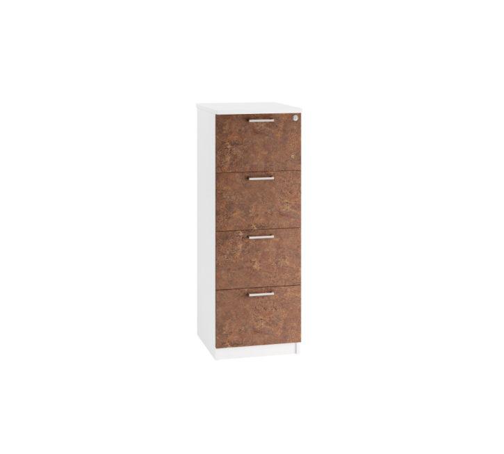 metro-rusted-steel-4-drawer-filing-unit