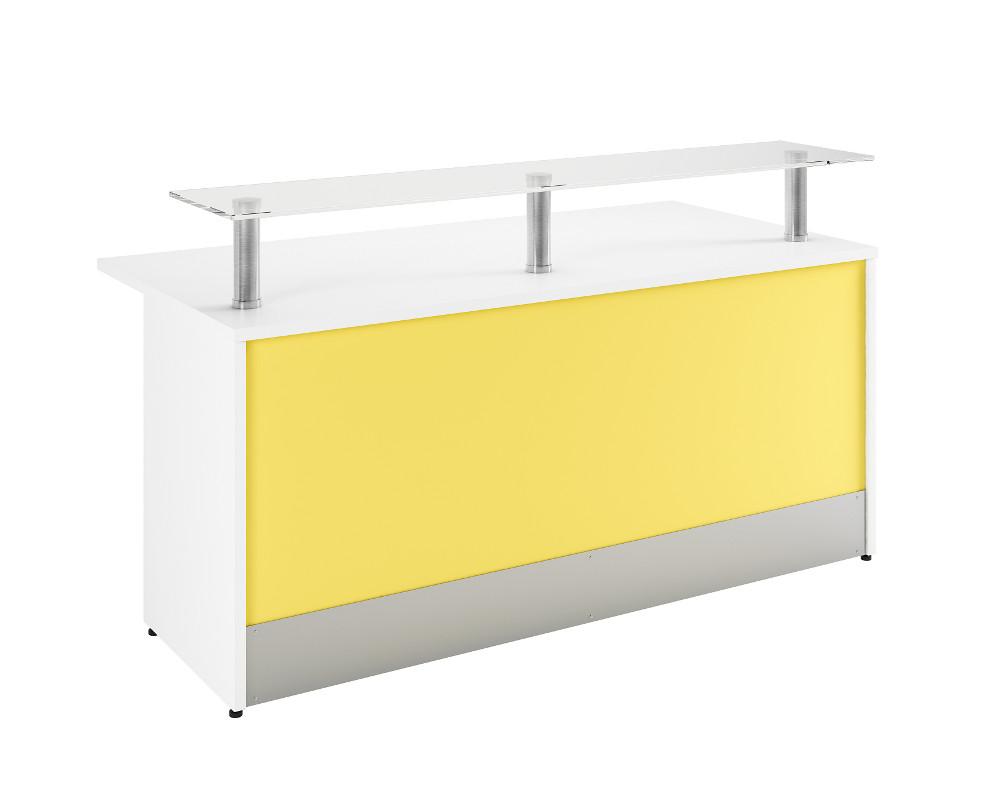Simple Modular Reception Desk comprised of 3 modules
