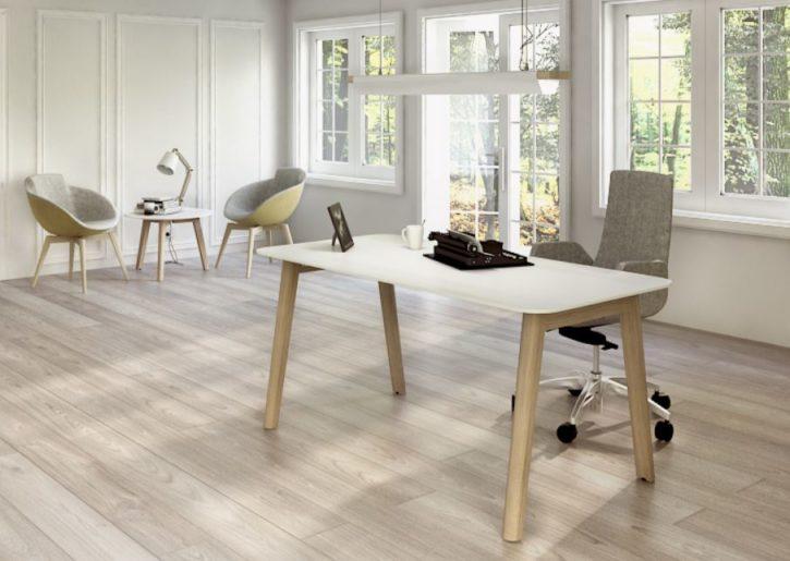Modern Wood Frame Desk
