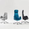Curved Italian Executive Chair