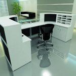 Modular Reception Desk Inside