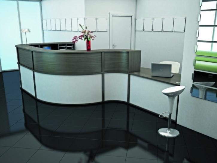 Freeflow Modern Modular Reception Desk